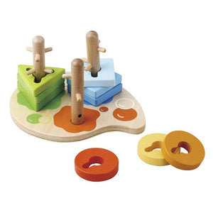 ToysLink - Twist and Turn Wooden Peg Puzzle