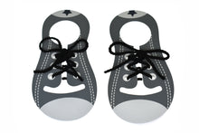 Kaper Kidz - Wooden Learn to Tie Shoe Lace Grey / White