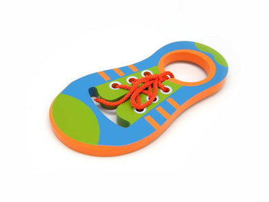Kaper Kidz - Wooden Learn to Tie Shoe Lace