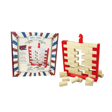 Wooden Wobbling Wall Game