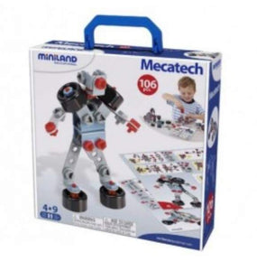 Miniland 106 Pcs Mecatech