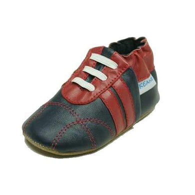 Skeanie - Pre-Walker Sneakers Navy/Red
