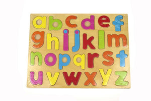 Kaper Kidz - Wooden Puzzle Alphabet Lower Case