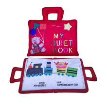 My Quiet Activity Cloth Book - Red