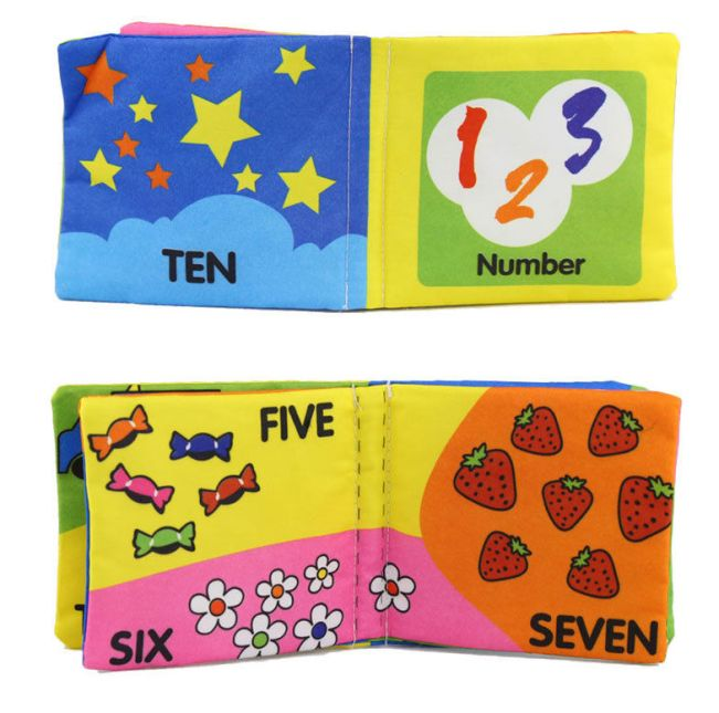Baby Cloth Book - Numbers