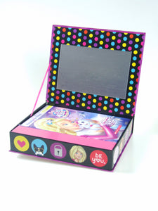 Scholastic: 5 Levelled Readers Book with Jewellery Box Set - Barbie