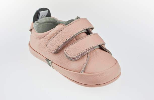 Playette Bella PINK Twin Strap Velcro Pre-walker Shoes
