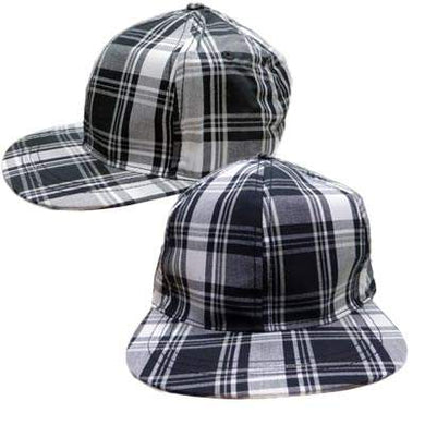 Kids Cotton Checker Cap