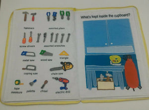 My Garage Playbook Activity Cloth Book