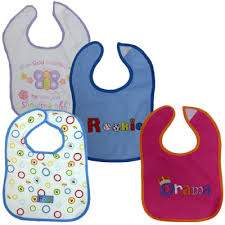 Waterproof Baby Bibs Assorted Set of 3