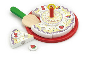 Viga - Wooden Birthday Cake (20cm D)