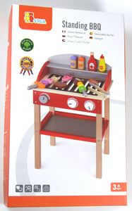 Viga wooden Standing Barbeque (bbq) grill with accessories