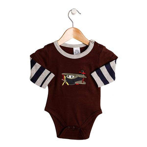 Snugzeez - Romper Long Sleeves Plane