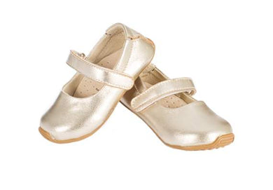 Skeanie - Mary Jane Shoes Gold (SALE)