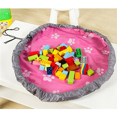 Storage / Play Mat with drawstring (PINK)