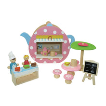 Portable Wooden Teapot (Cafe) Play Set