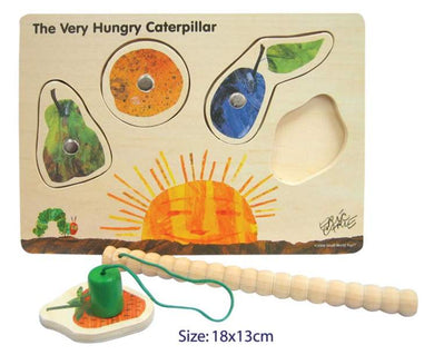 Fun Factory - Wooden Magnetic The Very Hungry Caterpillar Puzzle