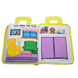 My Chores Playbook Activity Quiet Cloth Book