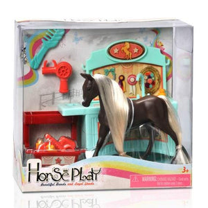 Horse Play Highland Chestnut Primped and Pretty Horse Grooming Set