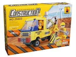 115 Pcs Ausini Construction Building Block - Cement Mixer (29403)