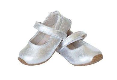 Skeanie - Mary Jane Shoes Silver (SALE)