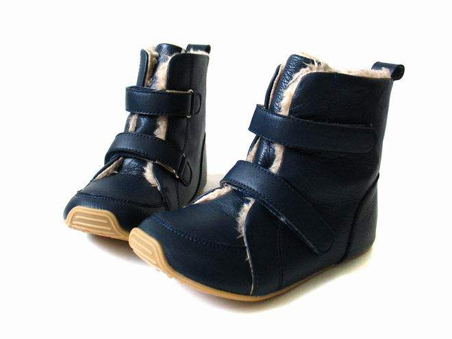 Skeanie - Junior SNUG Boots Navy (SALE)