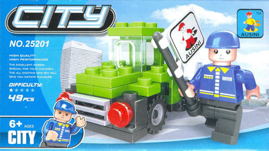 49 Pcs Ausini City Building Block - Mini Truck (25201) -SALE-