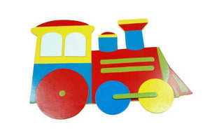 Kaper Kidz - Small Decorative Train Wall Plaque