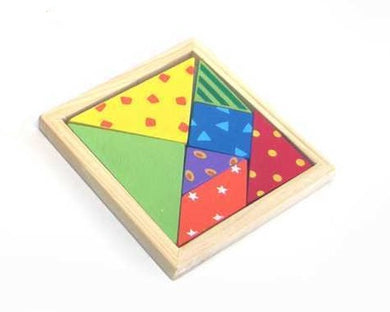 Kaper Kidz - Wooden Patterned Tangram