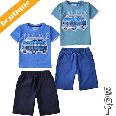 2 Pcs  Boys T-Shirt and Short set