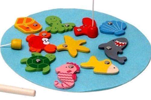 Magnetic Fishing Game Set in a Tin