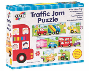 Galt - 10 PcsTraffic Jam Puzzle with Horn Sound Button