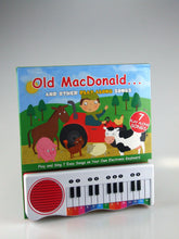 Piano Keyboard Book - Old MacDonald and Other Play Along Nursery Rhymes