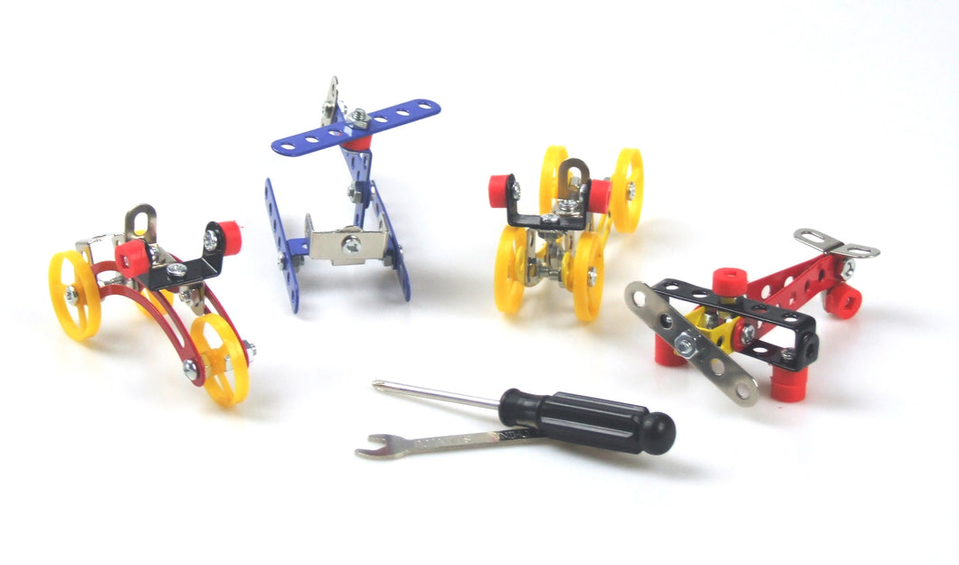 4 DIY Mechanic Model Build Kit with tools