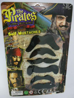 Pirates Self Mustaches
