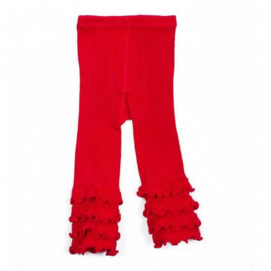 Skeanie - Tights Ruffle Red