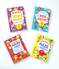 Brain Box Mini Puzzle Books (set of 4)