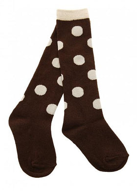 Skeanie Knee-hi Socks Choc Dots