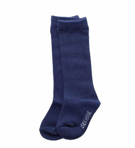 Skeanie Knee-hi Socks Navy 1-2 yrs