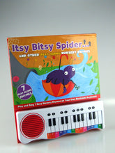 Piano Keyboard Book - Itsy Bitsy Spider and Other Play Along Nursery Rhymes