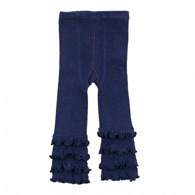 Skeanie - Tights Ruffle Navy