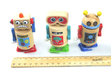 Wooden Wind-Up Walking Robot