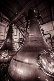 Lagavulin Wash Stills Sepia Toned Fine Art Print