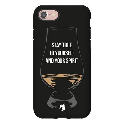 """Stay True To Yourself And Your Spirit"" Phone Case"