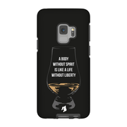 """A Body Without Spirit"" Phone Case"