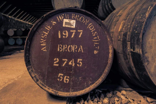 Brora 1977 Cask Fine Art Print by Wandering Spirits Global