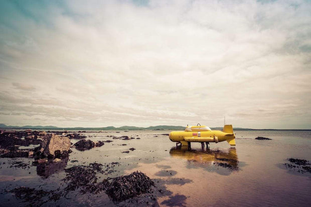 Bruichladdich Yellow Submarine Soft Colour Fine Art Print by Wandering Spirits Global