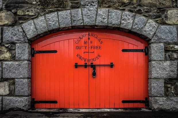 Glenfarclas Distillery Duty Free Warehouse 6 Fine Art Print
