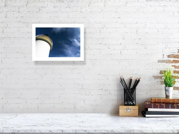 21.1 cm x 29.7 cm, 8.3 inches x 11.7 inches Port-Charlotte-Lighthouse by Wandering Spirits Global