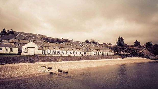 Bunnahabhain Distillery Soft Colour Fine Art Print by Wandering Spirits Global